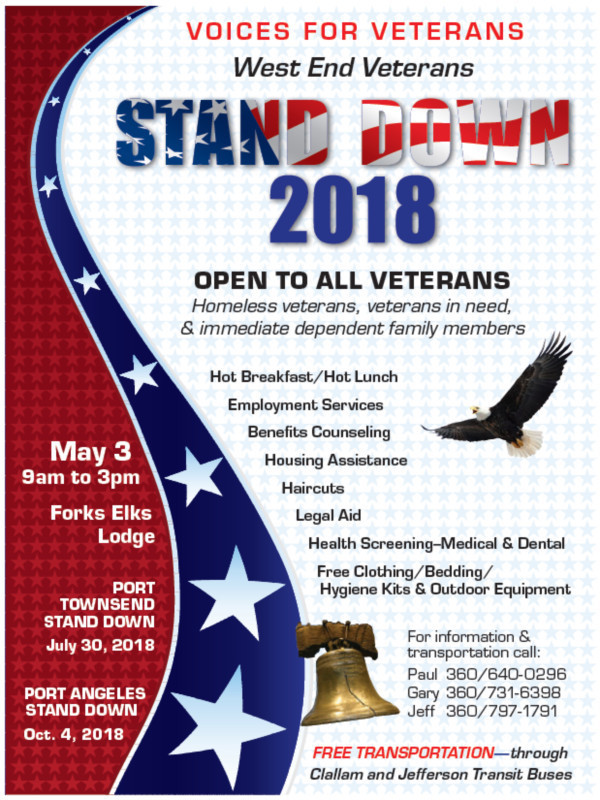 Voices for Veterans: Stand Down 2018