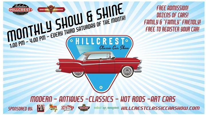 Hillcrest Classic Car Show - San diego classic car show 2018